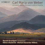 Weber - Complete Works for Piano and Orchestra