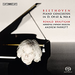 Beethoven - Piano Concertos in D, Op. 61 & No. 4