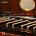 Mozart - Concertos for two and three Pianos
